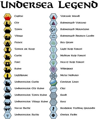 Map Key Symbols Plateau