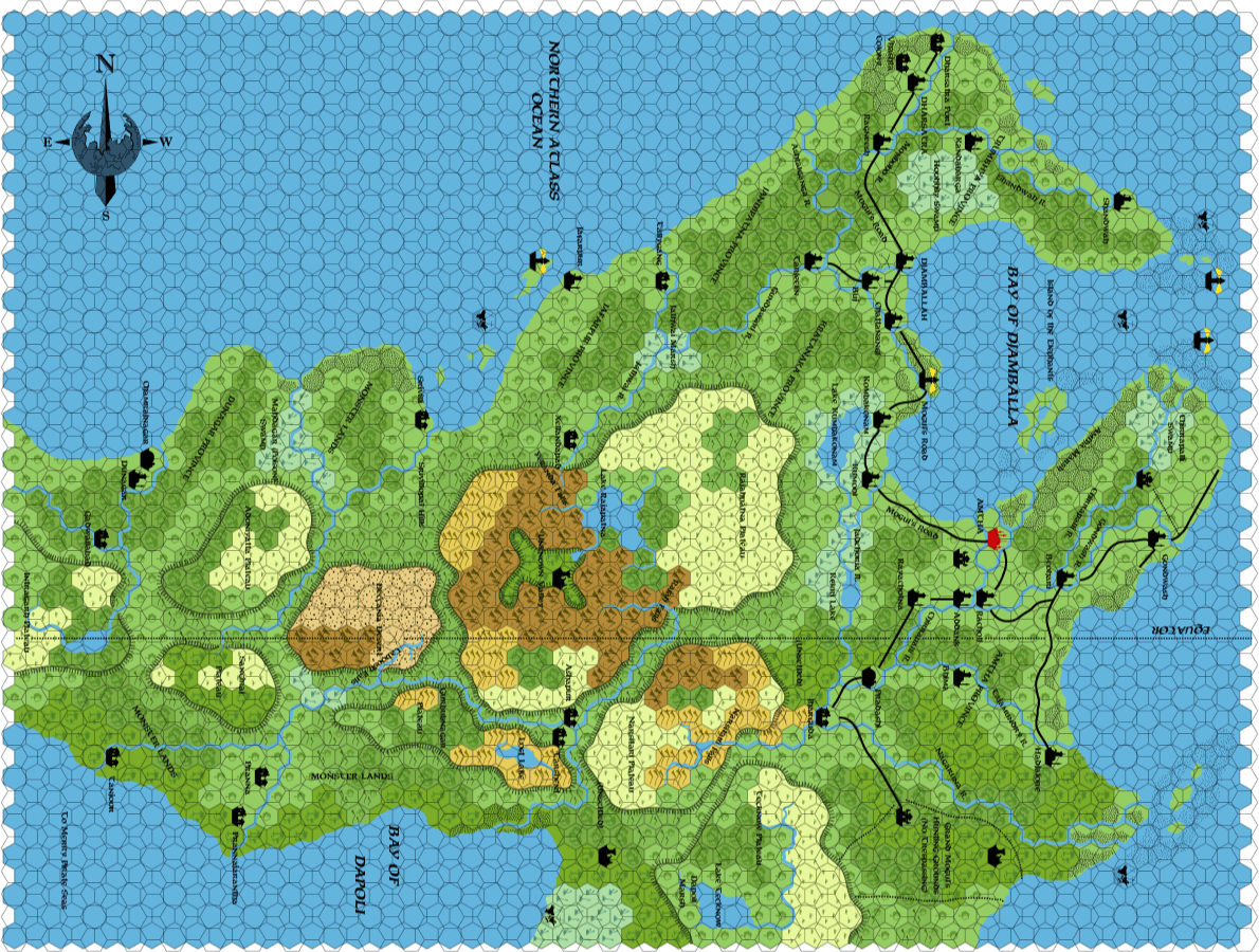 Hollow world shahjapur 8 miles per hex the piazza hollow world shahjapur 8 miles per hex gumiabroncs Gallery