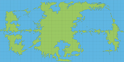 The Piazza View Topic Hollow World World Map Nonhex - Blank world map green
